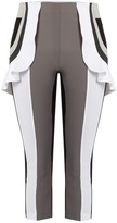NO KA 'OI NO KA'OI Kina Capri ruffle performance leggings