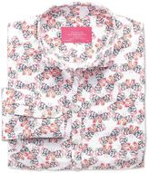 Charles Tyrwhitt Women's Semi-Fitted Multi Print Cotton Casual Shirt Size 14