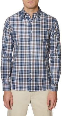 Hickey Freeman Christopher Regular Fit Plaid Button-Up Shirt