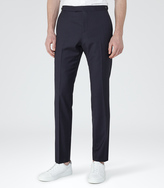 Reiss Pose T SLIM WOOL TROUSERS