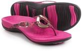 Vionic Technology Karina Flip-Flops - Leather (For Women)