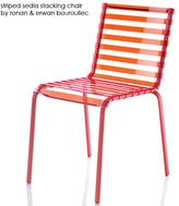 Magis - striped outdoor seating system by ronan & erwan bouroullec for magis of italy
