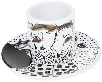 Antonio Marras + Kiasmo Adventures Iv Coffee Cup & Saucer