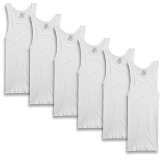 Fruit of the Loom Men's A-Shirt 6-Pack Underwear