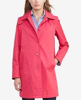 Lauren Ralph Lauren Petite Hooded Trench Coat