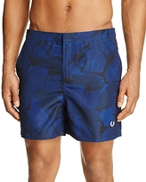 Fred Perry Printed Swim Trunks