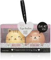 Forever 21 FOREVER 21+ Oh K Cat and Bear Lip Balm Set