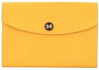 Hermes Pre-Owned 1993 pochette Rio H logos clutch hand bag