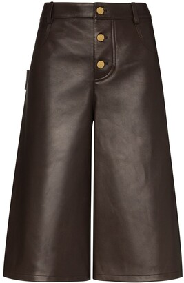 Bottega Veneta Wide Leg Shorts