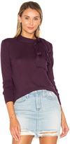 Autumn Cashmere Tie Neck Sweater