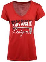 Colosseum Women's Wisconsin Badgers PowerPlay T-Shirt