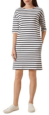 Hobbs London Mariner Striped T-Shirt Dress