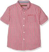 Ben Sherman Boy's Gingham Short Sleeve Shirt