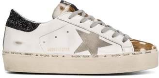 Golden Goose Superstar animal-print sneakers