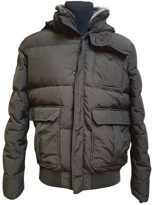 Woolrich Brown Polyester Jackets