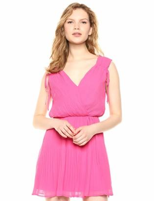 Ali & Jay Women's Plus One Wrap Top Fit & Flare Mini Dress