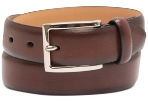 Club Room Men's Burnished Belt, Created for Macy's