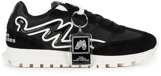 Marc Jacobs The Jogger black panelled sneakers
