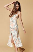 MinkPink Palm Spring Midi Dress