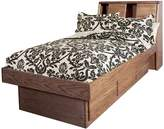 Forest Designs Bullnose Twin Bookcase Headboard: 64W x 42H x 12D (Headboard Only)