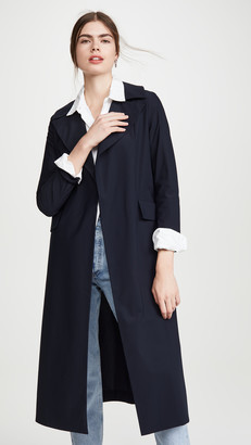 Harris Wharf London Flap Pocket Duster Coat