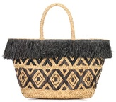 Kayu Lilian sea grass and raffia tote