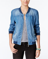 American Rag Denim Bomber Jacket, Only at Macy's