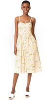 Rebecca Taylor Sleeveless Firefly Floral Dress