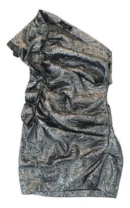 Isabel Marant Silver Wool Dresses