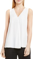 Vince Camuto Drape Front Sleeveless Top