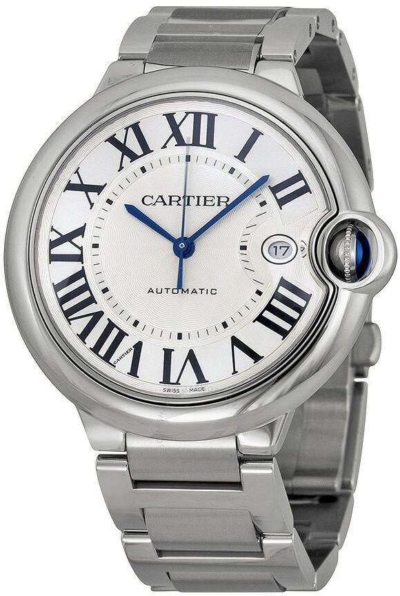 Cartier Ballon Bleu de Silver Opaline Dial Men's Watch