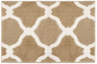 Laura Ashley Arietta Looped/Hooked Linen/White Area Rug Rug Size: Rectangle 2' x 3'