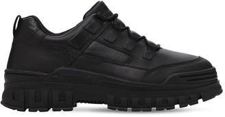 Caterpillar Rise Leather Sneakers