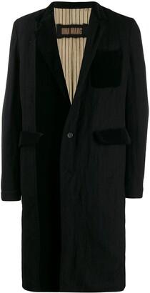 UMA WANG Classic Single-Breasted Coat