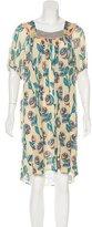Tsumori Chisato Wool Printed Dress w/ Tags