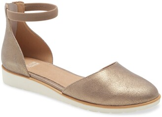 Eileen Fisher Ankle Strap Wedge