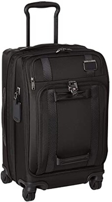 Tumi Merge International Front Lid 4 Wheel Carry-On (Black) Carry on Luggage