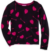 Aqua Girls' Hearts & Arrows Sweater - Sizes S-XL - 100% Exclusive