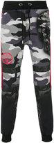Philipp Plein camouflage track pants