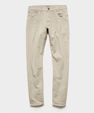Todd Snyder Slim Fit 5-Pocket Chino In Pebble Grey