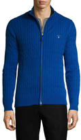 Gant Stretch Cotton Cableknit Jacket
