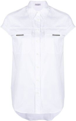 Brunello Cucinelli Button-Front Shirt