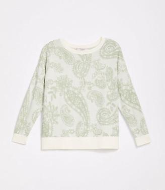 LOFT Plus Paisley Dolman Sweater