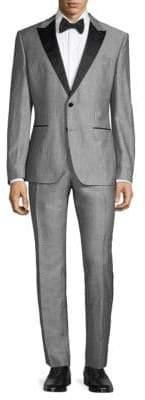 4bda64cd5 HUGO BOSS Regular Fit Peak Lapel Suit