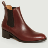 Anthology Paris - Burgundy Leather 7360 Chelsea Boot - 36 | burgundy | leather - Burgundy