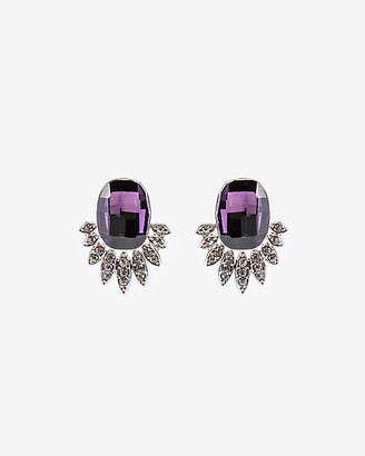 Le Château Gem Encrusted Stud Earrings