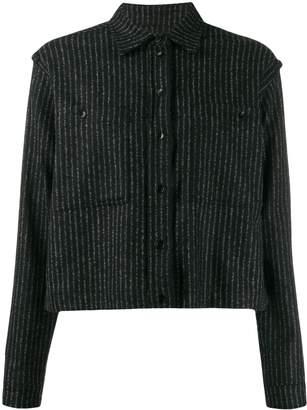 YMC striped boxy shirt