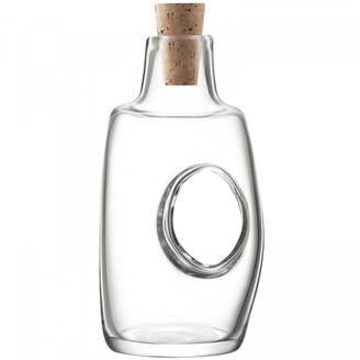 LSA International Void Oil/Vinegar Bottle & Cork Stopper