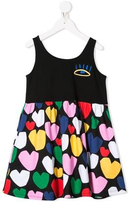 Stella McCartney Heart Print Dress
