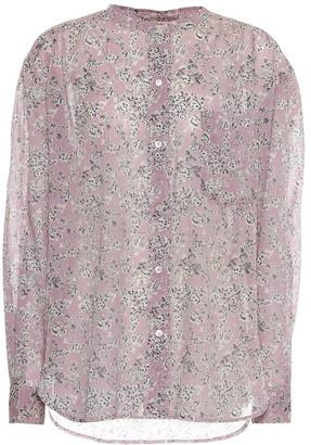 Etoile Isabel Marant Mexika floral cotton shirt